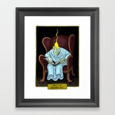 Ghost of Christmas Past Framed Art Print