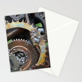 Rusted Wheel Stationery Cards