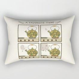A Favorite Tune - Whistling Tea Kettle Rectangular Pillow