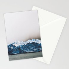 Argentinian glacier Stationery Cards