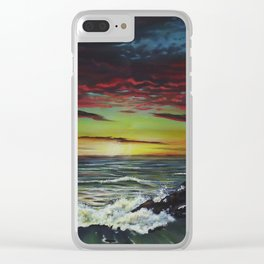 Beachscape Clear iPhone Case
