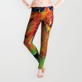 AnimalColor_Lion_004_by_JAMColors Leggings