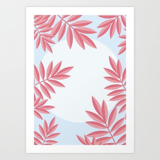Summer Jungle, Night Art Print