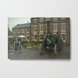 Pub Traction Metal Print