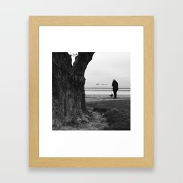 Lets Take a Walk Framed Art Print