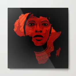 Mother Africa Metal Print