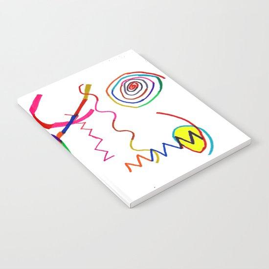 Funky Way Doodle Notebook