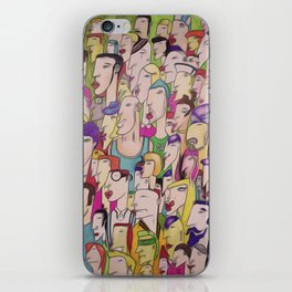 People iPhone Skin