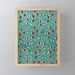 Leopard Animal Print Glam #28 #pattern #decor #art #society6 Framed Mini Art Print