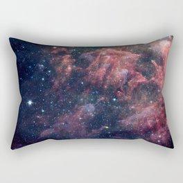 Nebula and Stars Rectangular Pillow