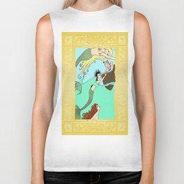 Mermaids At Play Biker Tank