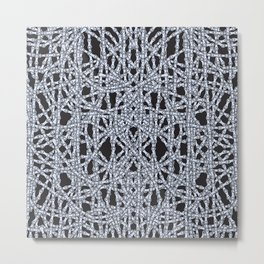 Bike Chains - Dark Metal Print