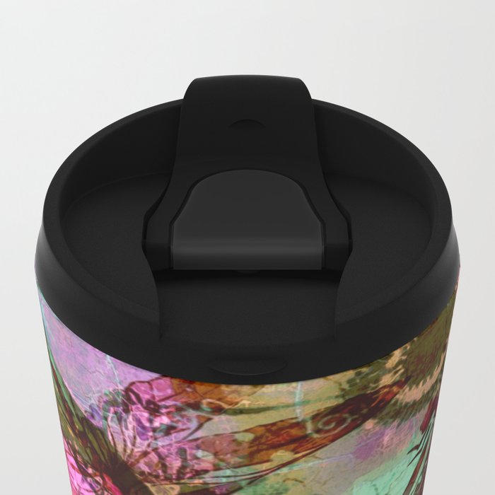 Dragonflies in a Dream Metal Travel Mug