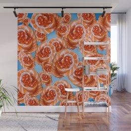 Salmon Rose Wall Mural