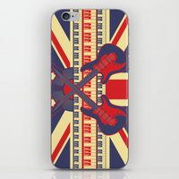 british iPhone & iPod Skins featuring British Rock by Ornaart