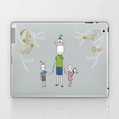 Daddy's home. Laptop & iPad Skin