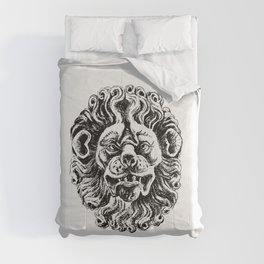 Lion head from Patrician And Lviv Burghers In The 16th Century i XVII Age Second Edition Comforters