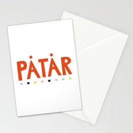 Påtår funky Stationery Cards