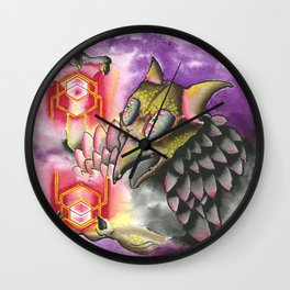 Hexer Wall Clock