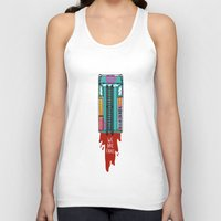 hotline miami Tank Tops featuring Hotline Miami 2 by Jarvis Glasses