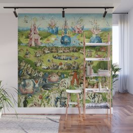 The Garden of Earthly Delights by Hieronymus Bosch Wall Mural
