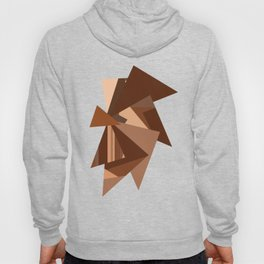 Chocolate Caramels Triangles Hoody