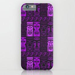 Purple Tide Tikis! iPhone Case