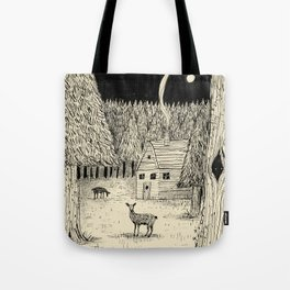 'In The Clearing' Tote Bag