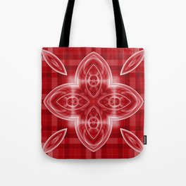 Pattern red Tote Bag