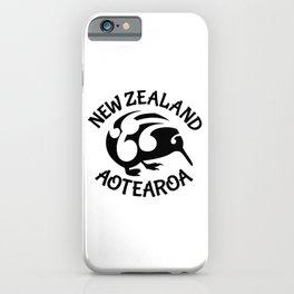 KIWI Aotearoa | New Zealand iPhone Case