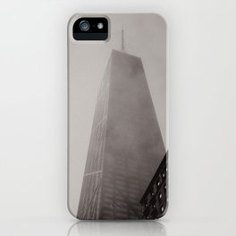 A Foggy Chicago Day iPhone Case