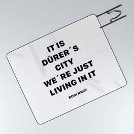 DÜRER´S CITY Picnic Blanket