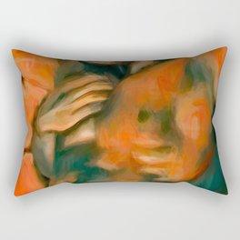 Hands All Over Rectangular Pillow