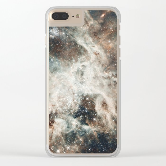Space 08 Clear iPhone Case