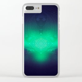 dreaming gate Clear iPhone Case