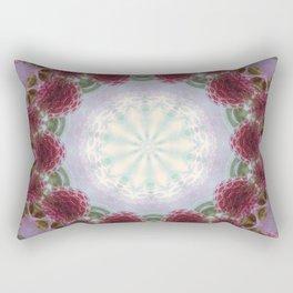 Strawberry Mandala Rectangular Pillow