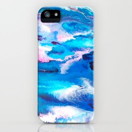 Turuoise Flow iPhone Case