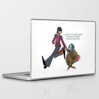 boob Laptop & iPad Skins featuring We'll Take You Somewhere by Freya Lovell