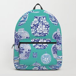 Chinoiserie Ginger Jar Collection No.5 Backpack