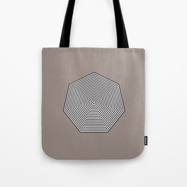 Basic geometry: heptagon Tote Bag