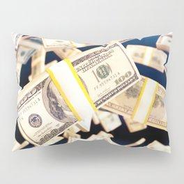 Flying dollars Pillow Sham