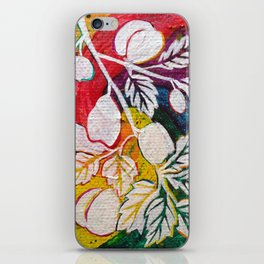 Leaves on the World Tree: Circassian Cork Oak with Mixed Fruit iPhone Skin