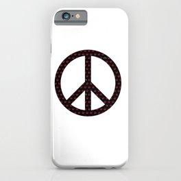 Peace of the Ladies iPhone Case