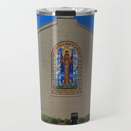 Lourdes University- Peace Prayer Attributed to St Francis Travel Mug