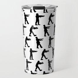 Zombie Silhouettes Travel Mug
