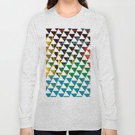 Color Chrome -geometric graphic Long Sleeve T-shirt