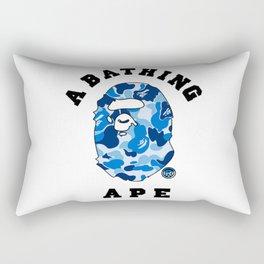 bape blue Rectangular Pillow