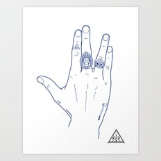 Make My Hands Famous - Part V Art Print
