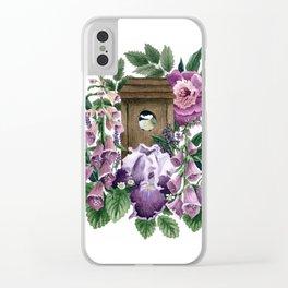 Garden Home Clear iPhone Case