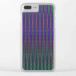 Digital Forest Clear iPhone Case